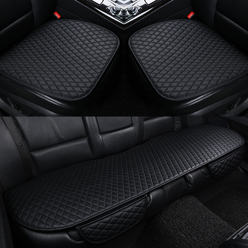 Car seat cover leather auto seats protector covers for nissan altima elgrand frontier LEAF march murano z51 navara d40 note 2018