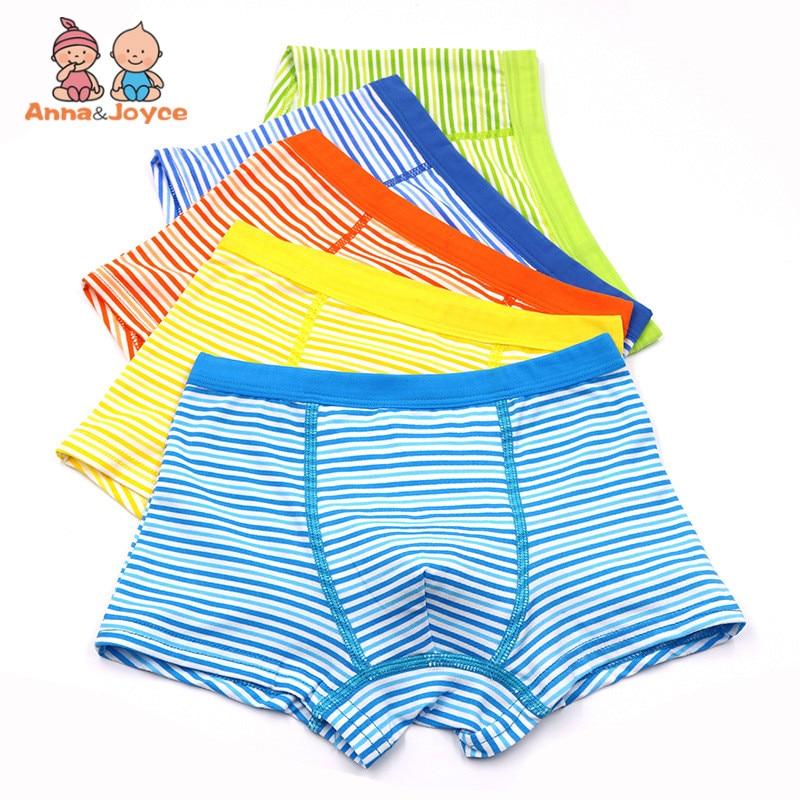 10Pcs/Lot Kids Boys Boxer Panties  Children's Underwear Boys Boxer Shorts Shorts LHTNM416