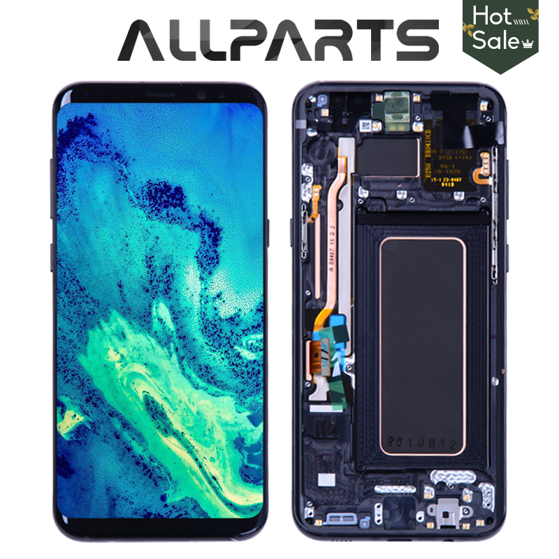 Original AMOLED Display For SAMSUNG Galaxy S8 Screen Replacement LCD Touch Digitizer Assembly S8 Plus LCD