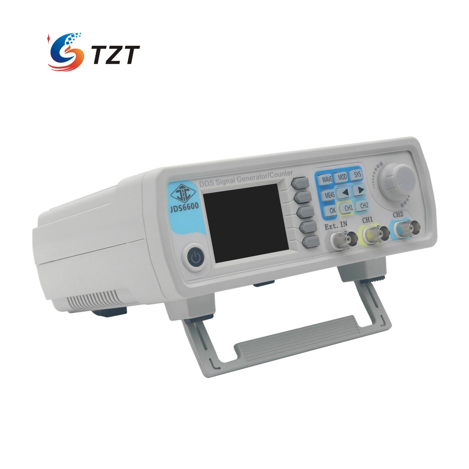 JDS6600 15M/30M/40M/50M Dual Channel Function Arbitrary Waveform Signal Generator Pulse Signal Source Frequency Meter akg pae5 m