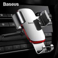 Baseus Schwerkraft Auto Telefon Halter 360 Rotation Handy Clip Halter Stand Halterung CD Slot Montieren Clip Halter für iPhone samsung