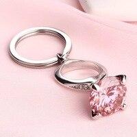 1pcs lot Unique Custom name Diamond Keychain Valentine's day Girlfriend birthday gifts Personalized wedding bridesmaid gift