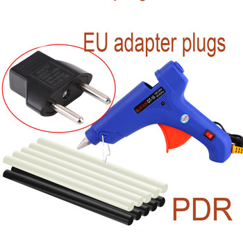 цена на PDR tools Paintless Dent Repair  Tools Glue gun Glue sticks PDR dent removal auto body kit