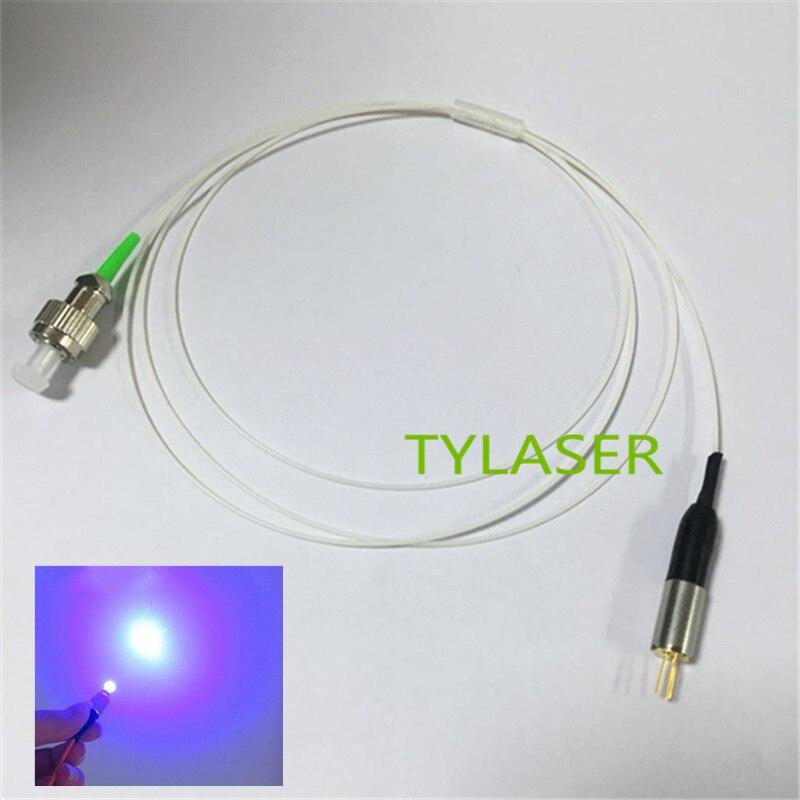 405nm FP fiber de sortie puissance 3 mw laser diode laser coaxial