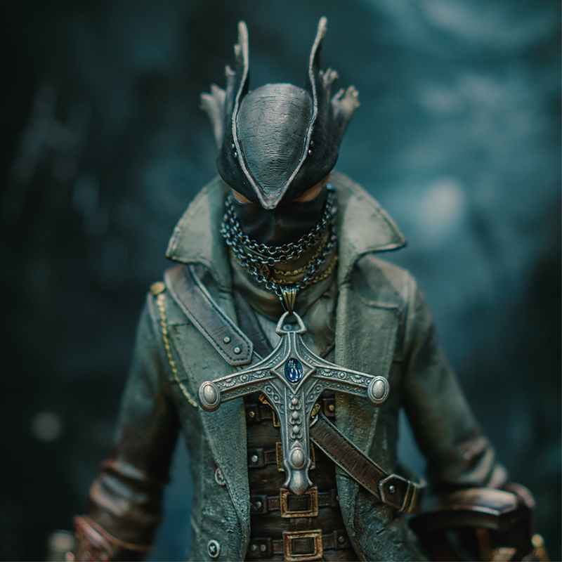 все цены на 1Set GECCO Metal Pendant PS4 Bloodborne Game Anime Figure Toys Christmas Gift For Man Woman