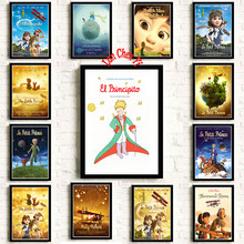 Classic anime Le Petit Prince Coated paper poster Cafe Creative wallpaper Interior Decoration