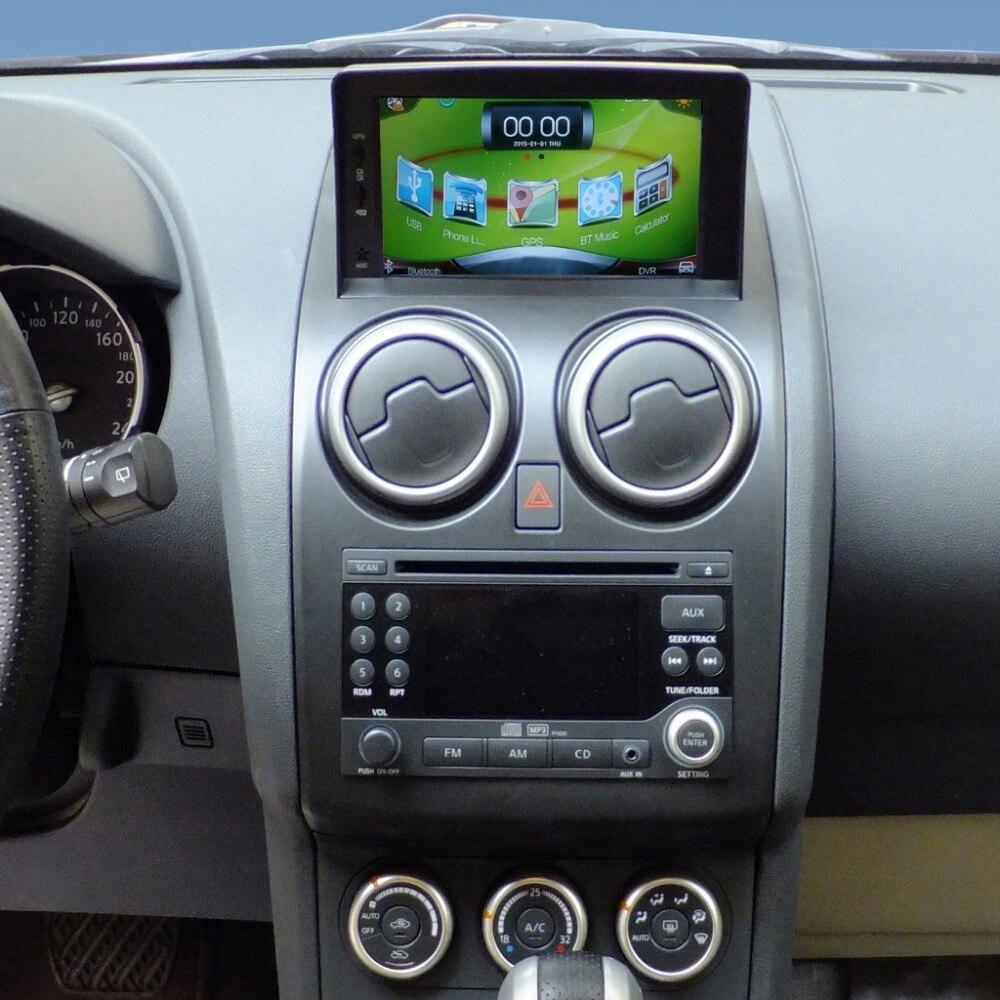 7 zoll wince 6,0 auto gps navigation für nissan qashqai video player