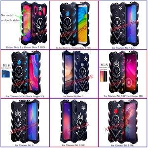 Image 2 - Aluminum Metal Body Cover for Xiaomi Mi 9T K20 Pro CC9 CC9e Max 3 9 SE Lite Case Coque Shockproof Cases Redmi Note 7 5 Pro Cover