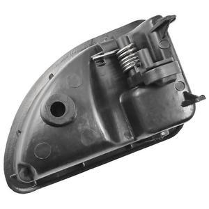 Image 4 - 2 Pcs/set Car Inner Handle Interior Door Panel Pull Trim Cover Black Left Right For RENAULT KANGOO TWINGO