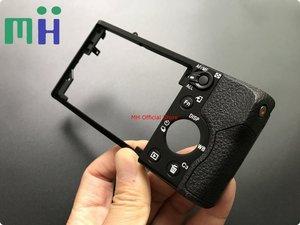 Image 1 - Nowy A7 A7K A7R A7S tylna pokrywa tylna obudowa ASSY X25884166 dla Sony ILCE Alpha 7 7 K 7R 7 S naprawy lub wymiany części jednostki