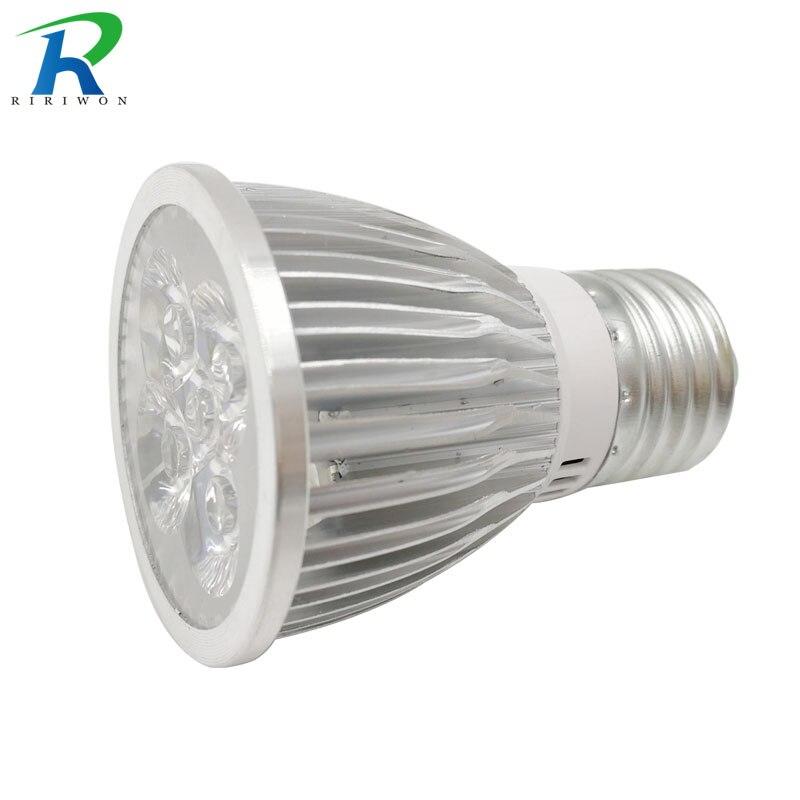 цена на RiRi won SMD LED Plant grow bulb lamp grow light 5leds Hydroponic Systems Full spectrum 85V-265V indoor grow bulb