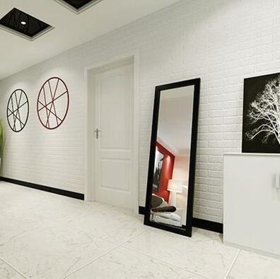Geprägte 3D Mauer Papier Moderne Vintage Ziegel Stein Muster Papier  Tapetenbahn Für Wohnzimmer Wandverkleidung Decor In Geprägte 3D Mauer  Papier Moderne ...