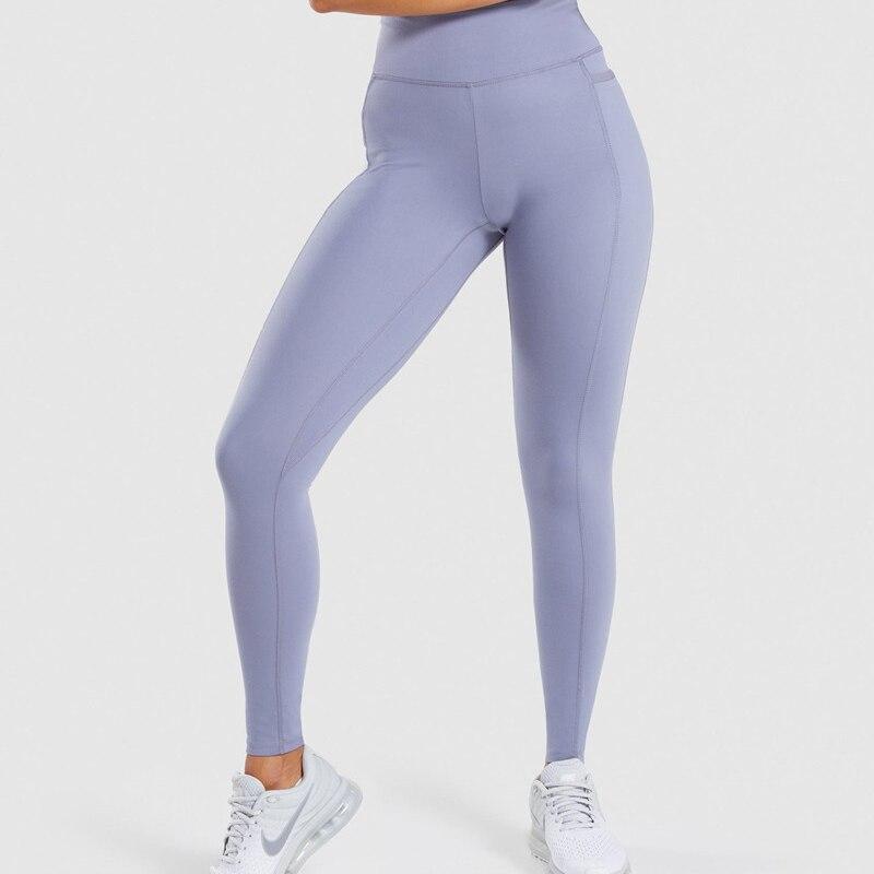 2019 nouvelles filles Yoga Leggings Sport pantalon taille haute mince séchage rapide Sportwear Fitness pantalon femmes couper mince Yoga neuf pantalon