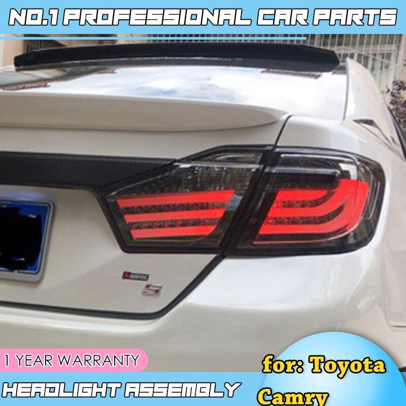 Pour Toyota Camry V50 feux arrière 2012-2014 Camry feu arrière LED Aurion feu arrière DRL + frein + parc + Signal voiture style