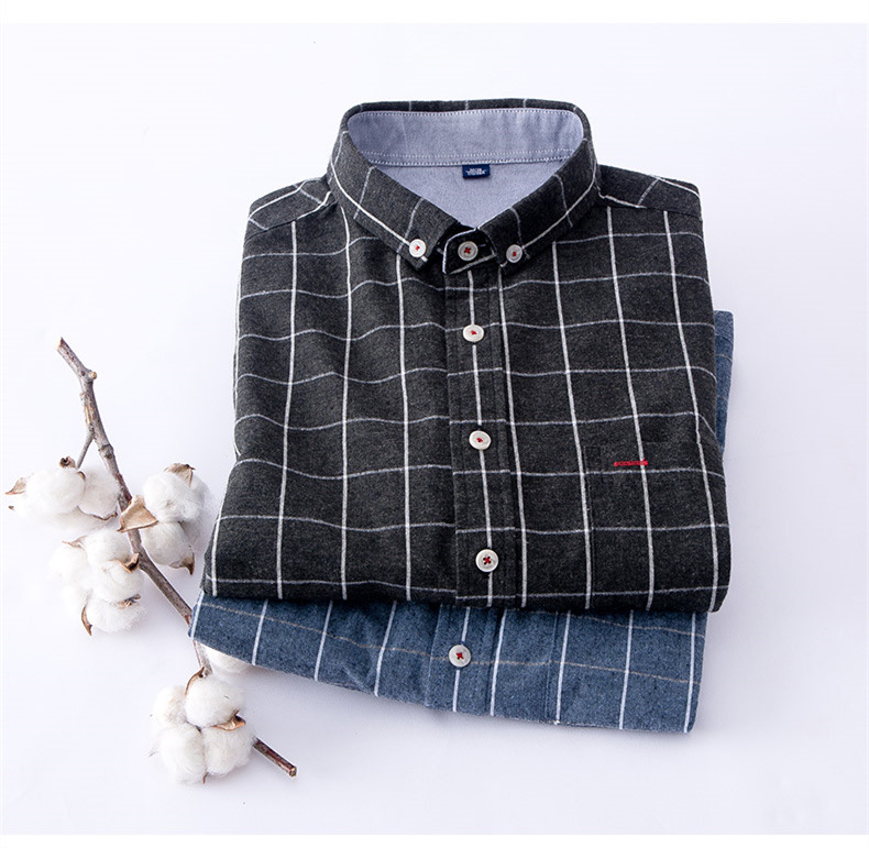 Black Flannel Shirt