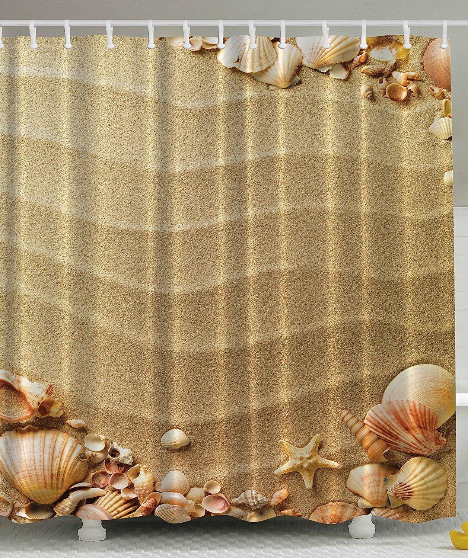 Seashell Curtains Bathroom Online Get Cheap Seashell Curtains Aliexpress  Com Alibaba Group