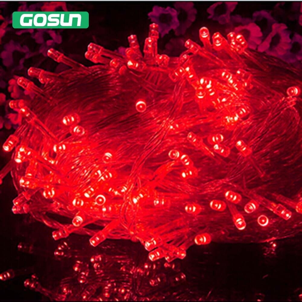 Hot Sale 100 LED 10M String Light Christmas/Wedding/Party Decoration Lights  AC 110V