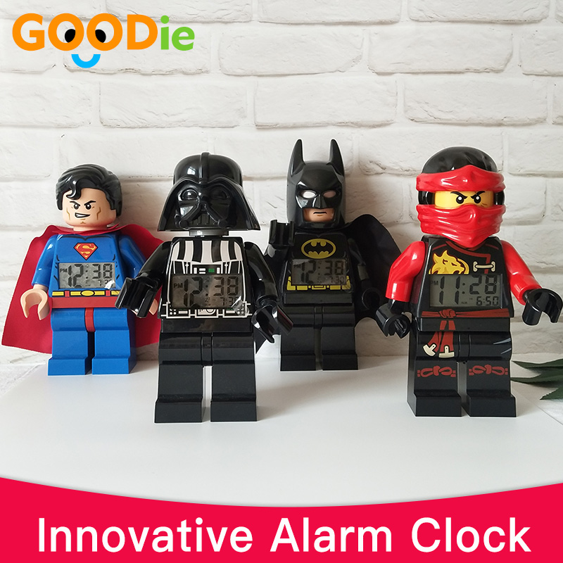 Brand, Suprman, Original, Cartoon, Batman, Alarm