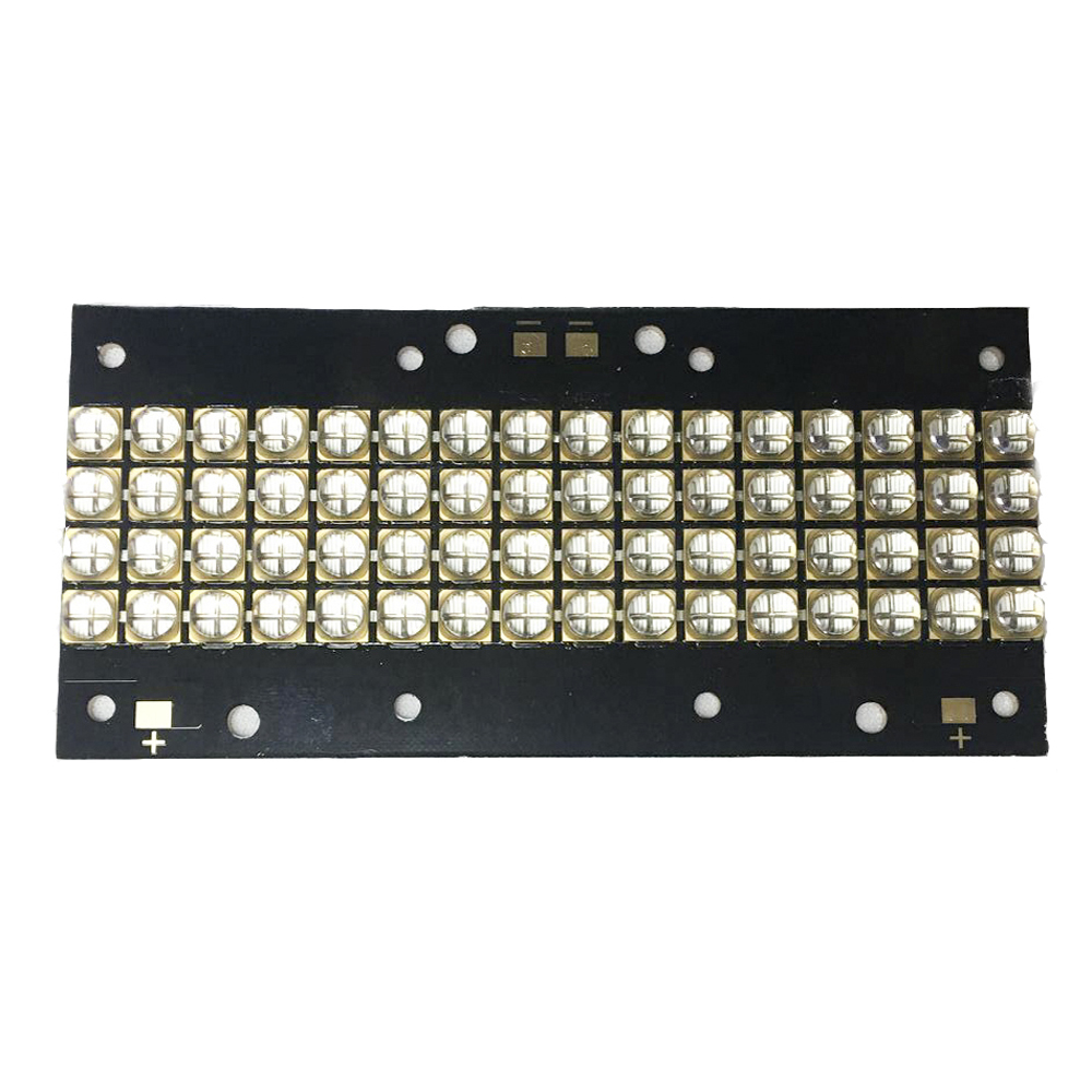 480W high-power LED UV LED  violet 6565 365nm 385nm  395nm 56*118mm board 150 watts high power led uv violet 6565 365nm 370nm 380nm 385nm 395nm 400nm 405nm 35 35mm board