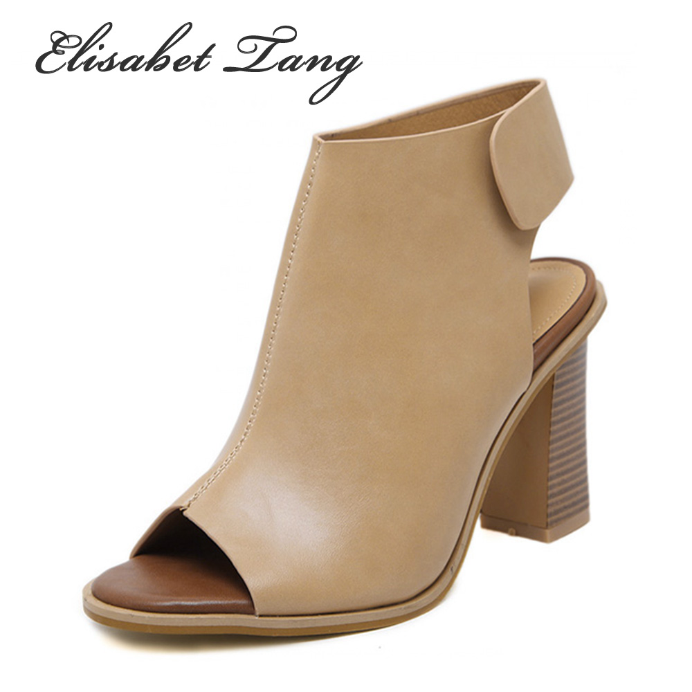Women's sandals that hide bunions - Brand Shoes Woman Summer Gladiator Women Sandals Sexy Peep Toe Ankle Strap High Heel Sandals Gift