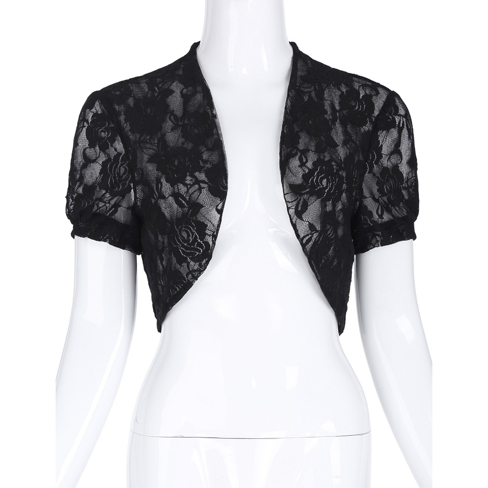 Online Get Cheap Black Lace Jacket Bridal -Aliexpress.com ...