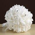 Ramalhete do casamento 6 Cores Disponíveis Artificial Mãos Noiva Dama de honra Segurando Flores Para Decoração de Festa De Noiva