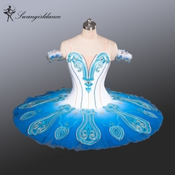 White blue swan lake ballet tutu costumes professional ballet tutus blue bird nutcracker tutu platterbt9083.jpg 250x250