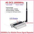 Pantalla LCD! Mini 2G 4G LTE GSM DCS 1800 MHZ Repetidor Móvil de la Señal, GSM DCS 1800 MHz celular amplificador de señal + Interior Antenn