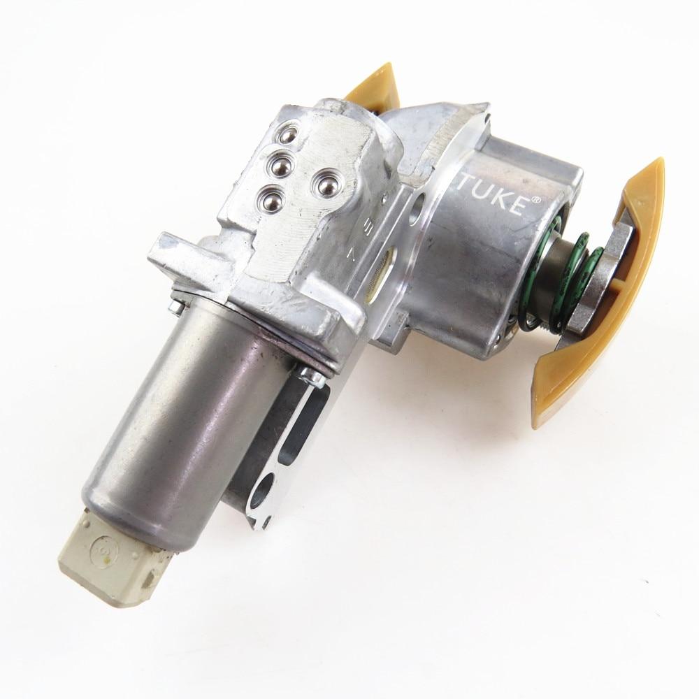 TUKE 077 109 087 P 077109087P 077109088E 4.2L Left Timing Chain Tensioner For Audi A6 C5 A8 D3 Quattro S8 RS6 VW Phaeton Touareg actuator for k04 53049880028 077145703p 077145703pv turbo turbochager for audi rs6 c5 left side 2002 2004 year 450hp bcy biturbo