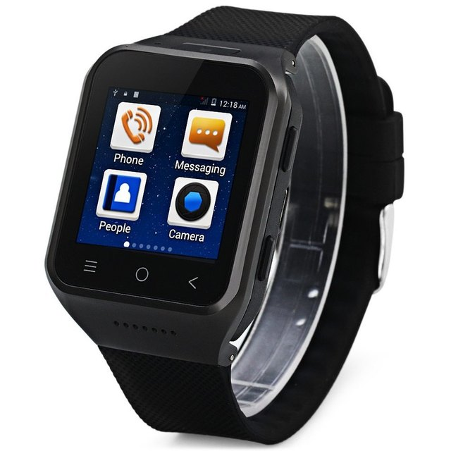 ZGPAX S8 Bluetooth Smart Watch 3G Wifi MTK6572 Dual Core Android Smartwatch 1.54″ Touch Screen SIM Camera MP3 4GB Wristwatch