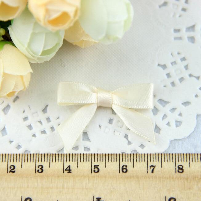 500pcs lot Handmade Small Ribbon Bow For Wedding Invatations Free Shipping