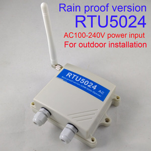 Image 2 - Fast shipping Rain proof version RTU5024 GSM Gate Door Opener GSM Relay Remote Switch Access Control Free Call Home Security