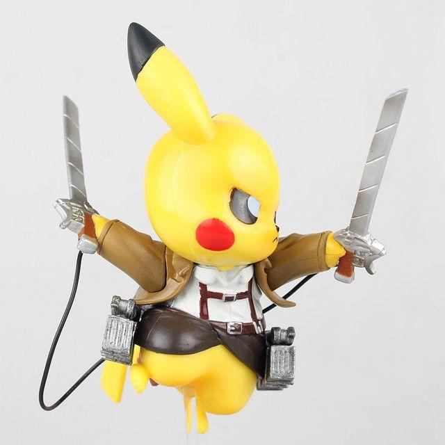 Pikachu AoT Cosplay Model (15 CM)