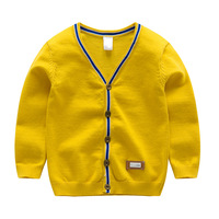 Kids Boys Knitted Spring Autumn Cardigans Baby Boy Sweater Cardigan Kid Cardigan Sweaters Boys Knit Tops