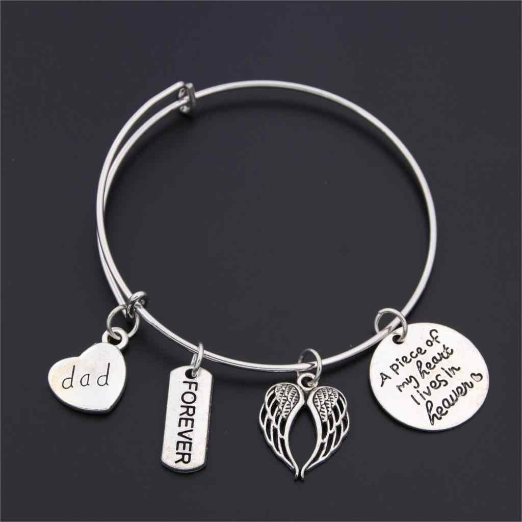 1 pc Love Heart สร้อยข้อมือสำหรับผู้หญิงผู้ชายน้องสาวแม่พ่อยายของขวัญสร้อยข้อมือ Charm ครูเครื่องประดับครอบครัวที่ดีที่สุดเพื่อนของขวัญ