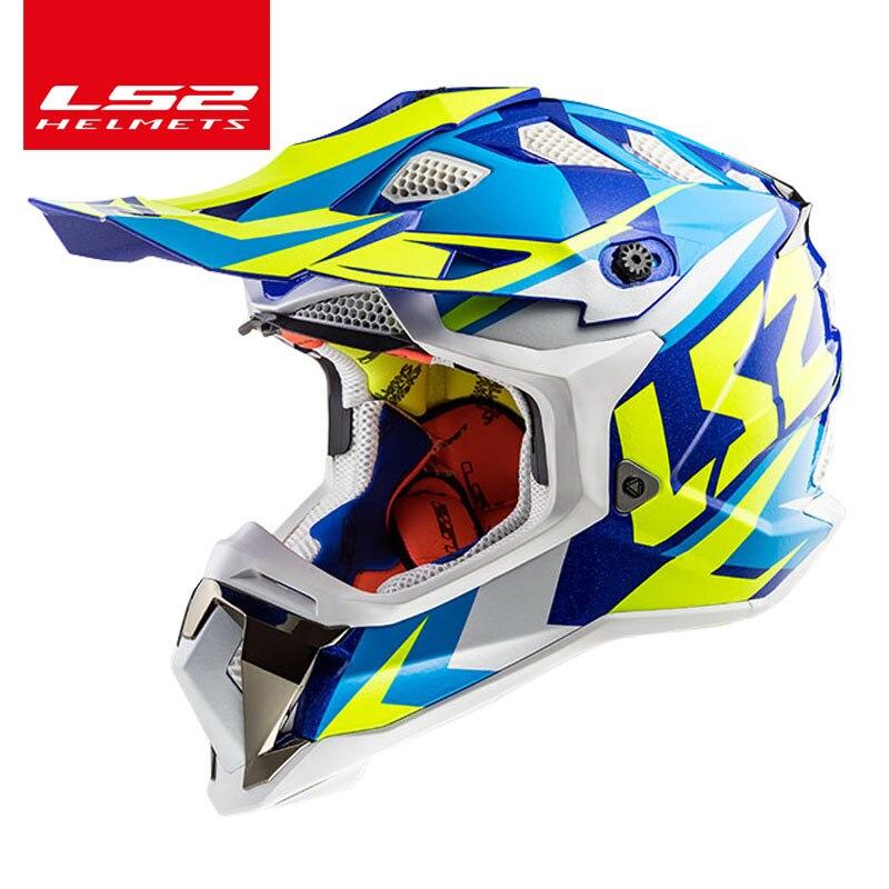 LS2 Magasin Mondial LS2 PERTURBATEUR MX470 Off-road motocross casque technologie Innovante de haute qualité moto casque