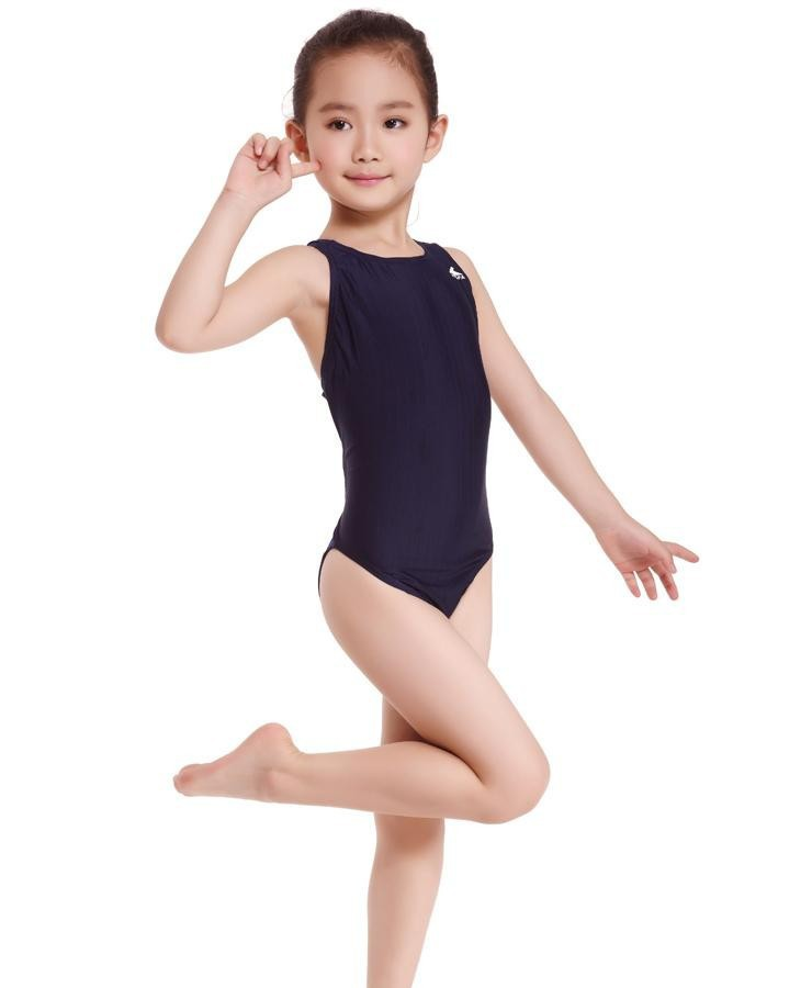 a0ec3afc74440 Racing Children One Piece Swimsuits Kids Girls Swimwear Sports Baby Bathing  Suits Bathers For Training Bodybuilding Competition-in Children's One-Piece  ...