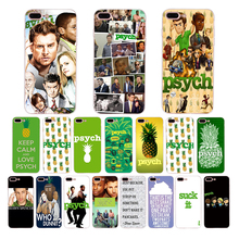 Soft case for iphone 6 7 8 6s plus xs max x xr 5 10 5s se silicone phone cover TV series psych green pineapple shell TPU Coque 2 in 1 detachable inner tpu crazy horse leather shell for iphone 7 plus 5 5 green