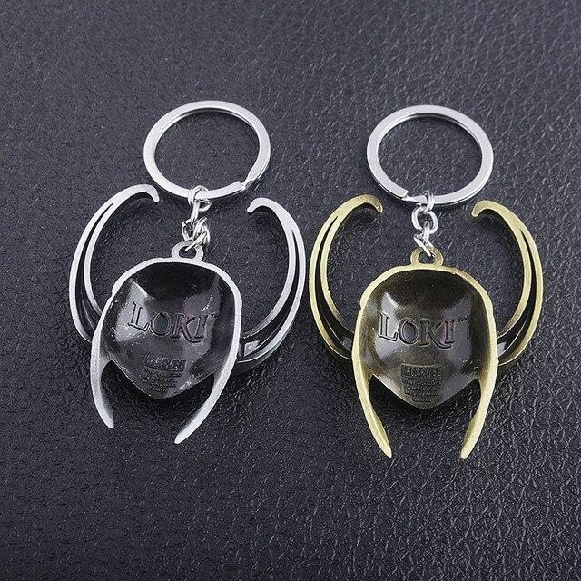 Loki Helmet Keychain (3 Designs) 4