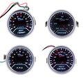 """2 """"52mm Carro Ponteiro Medidor EXT Temp Volt Da Imprensa Do Vácuo RPM Tacômetro Indicador LED BI516/517/518/519"""