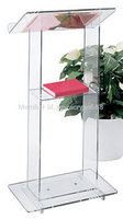 pulpit furniture Free Shipping Beautiful Simplicity Cheap Acrylic Podium Pulpit Lectern acrylic pulpit