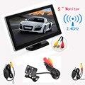 5 Monitor do carro da Polegada TFT-LCD Digital Car Rear View Monitor + 420 Linhas de TV Night Vision Camera + Transmissor de Vídeo e Kit Receptor