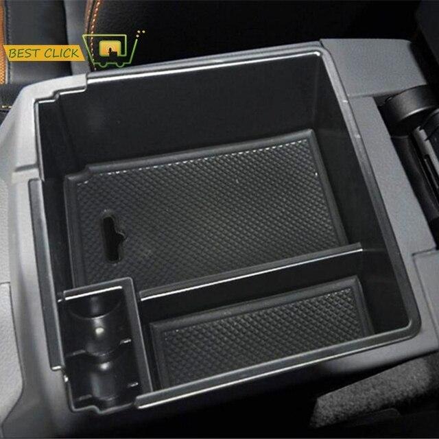 Armrest Storage Box For Ford Ranger 2012-2018 Center Console Bin Glove Tray Holder Case Car Organizer