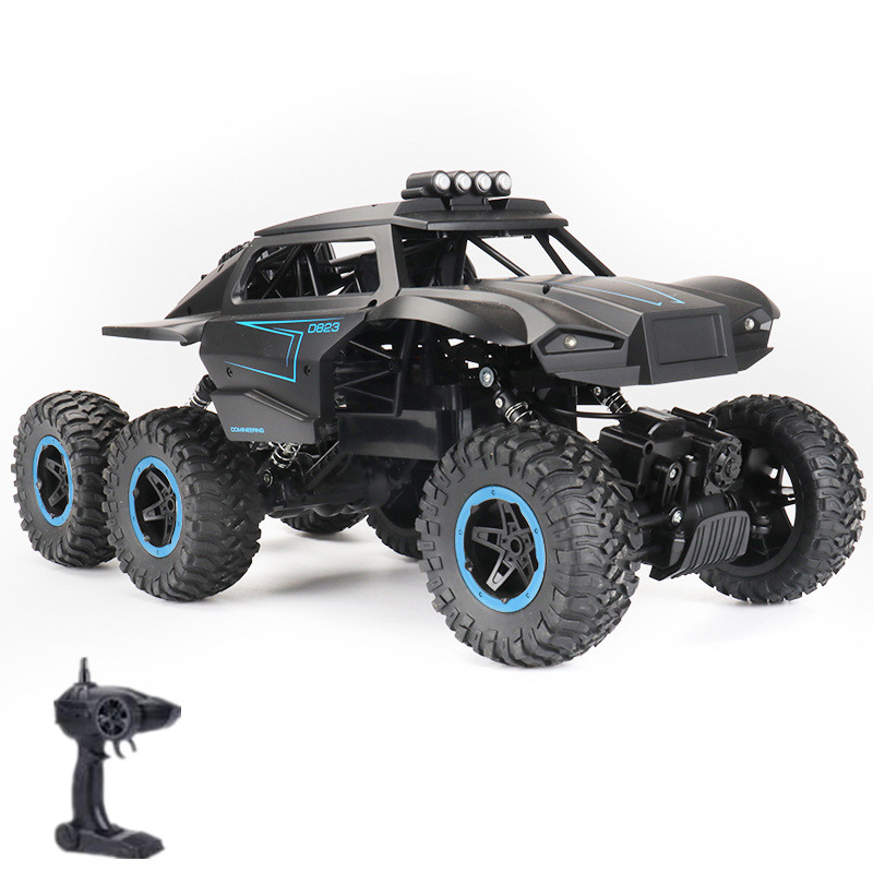 New 6WD Monster Electric <font><b>RC</b></font> <font><b>Truck</b></font> Model 1/12 6 <font><b>Wheel</b></font> Strong Climbing Off-Road Speed Change Wireless Control <font><b>Truck</b></font> With LED Light image