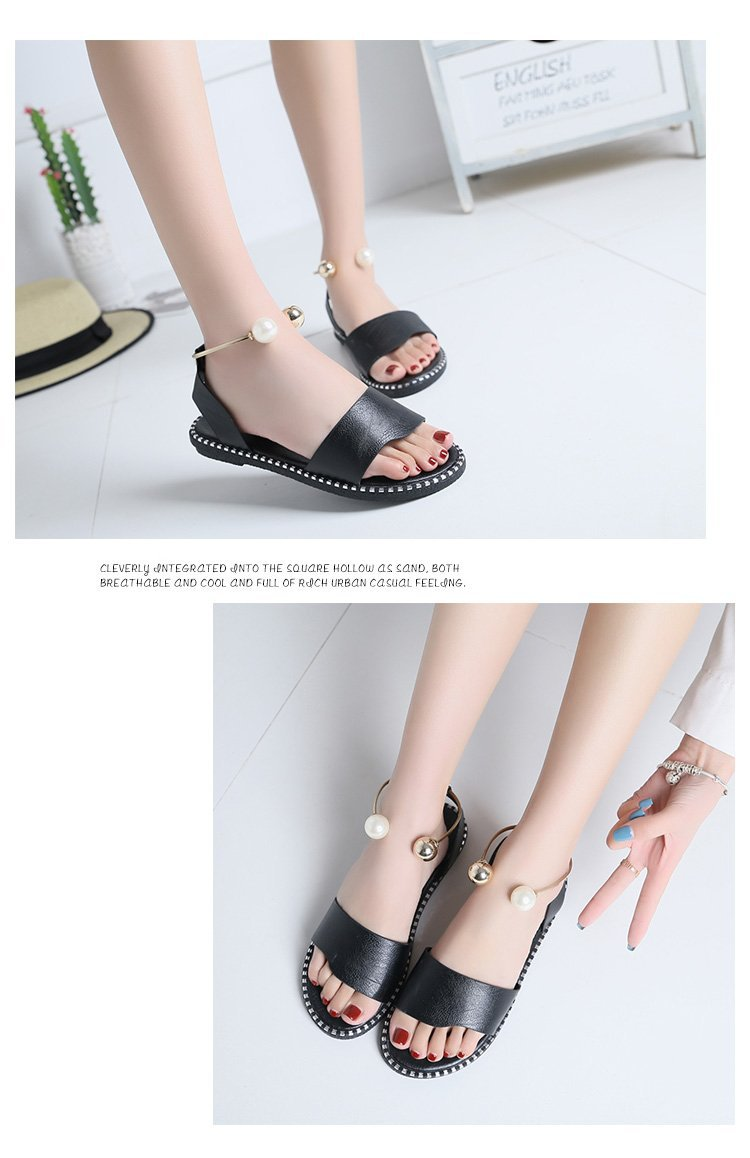 HTB1h5anbELrK1Rjy0Fjq6zYXFXaE HOKSVZY 2019 Sandals Flip Flops New Summer Fashion Rome Slip-On Breathable Non-slip Shoes Woman Slides Solid DFGD-A12