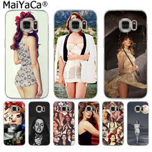 MaiYaCa Beautiful Lana Del Rey Sexy Fashion Luxury phone case for Samsung S9 S9 plus S5 S6 S6edge S6plus S7 S7edge S8 S8plus(China)