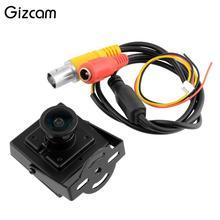 Gizcam FPV Mini Digital Vedio Camera HD 700TVL Mini Camcorder for Aerial Photography Black Wide Angle