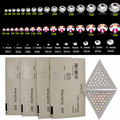 1 Pacote (1440 pcs) Limpar Strass Cristal Prego SS 3D Nail Art Strass Gems Decoração 2016 DIY Diamante jóias