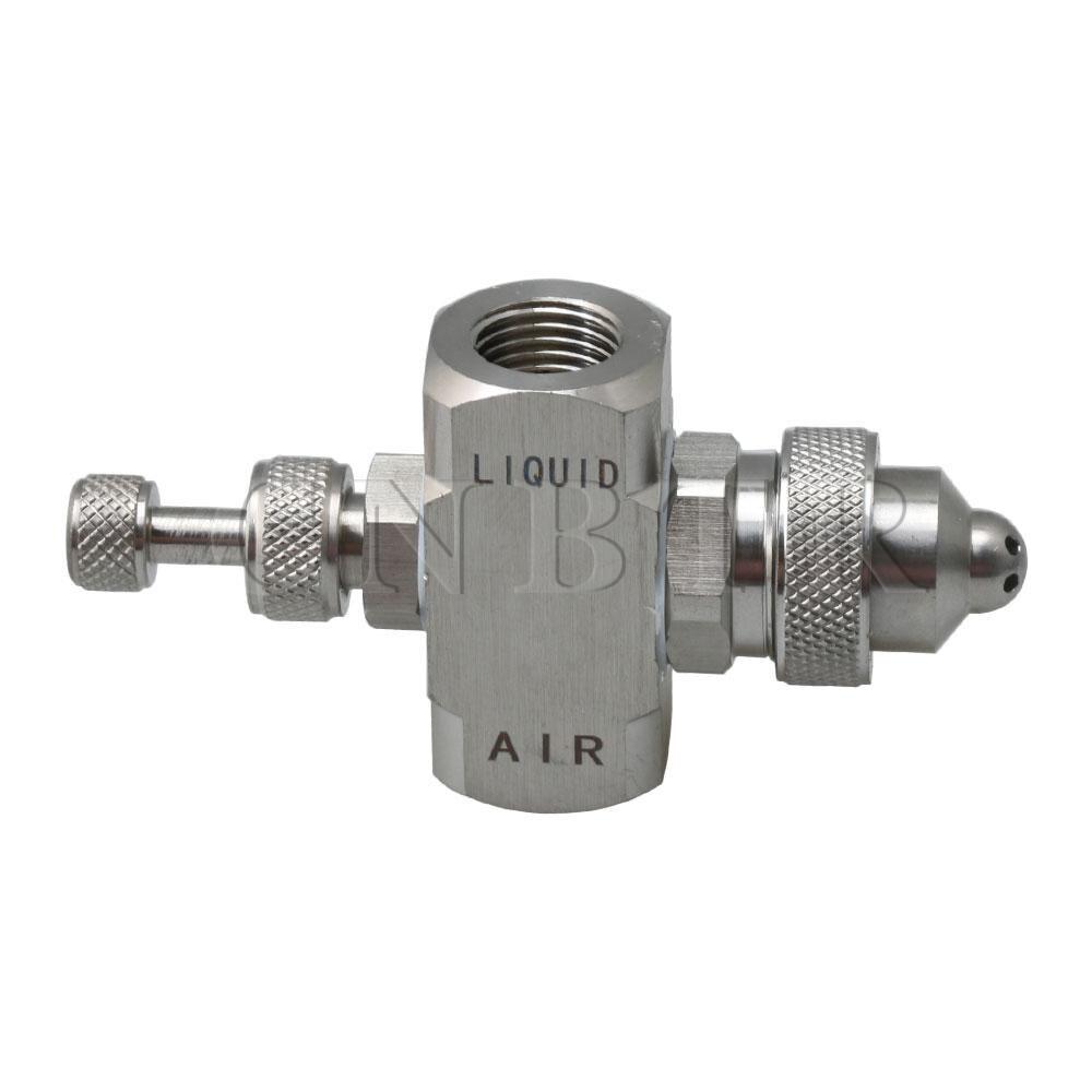 Adjustable Air Atomizing Cooling Nozzle Mist Nozzle Six Holes Type Spray