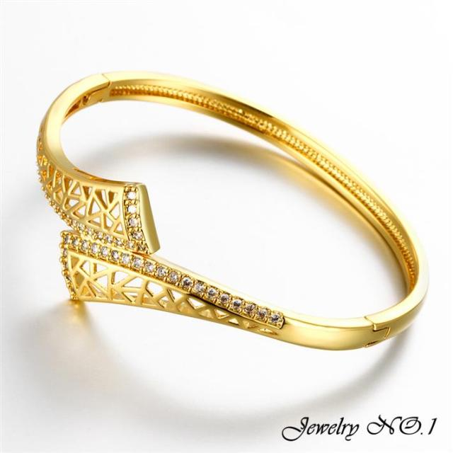 beautiful solid diamond buy bracelet swan detail gold women dance product